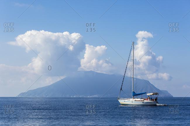 Salina Island, Aeolian Islands, Sicily, Italy