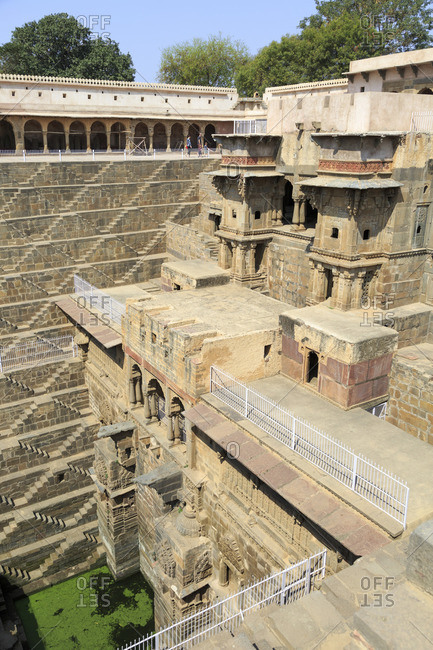 Stepwell Chand Baori Abhaneri, Rajasthan, India