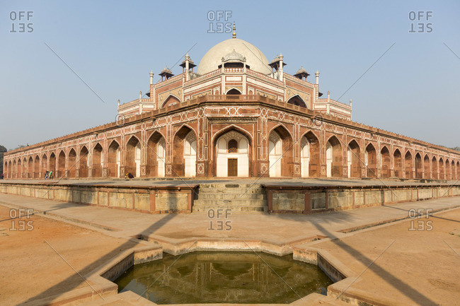 The Humayun Mausoleum in Delhi, India