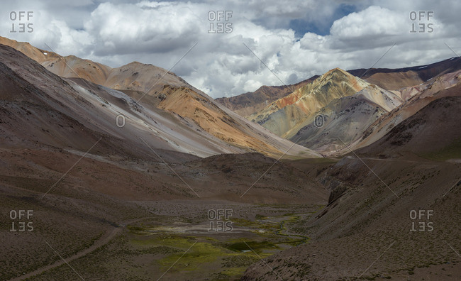 Agua Negra Pass, Andes ranges, Chile Argentina