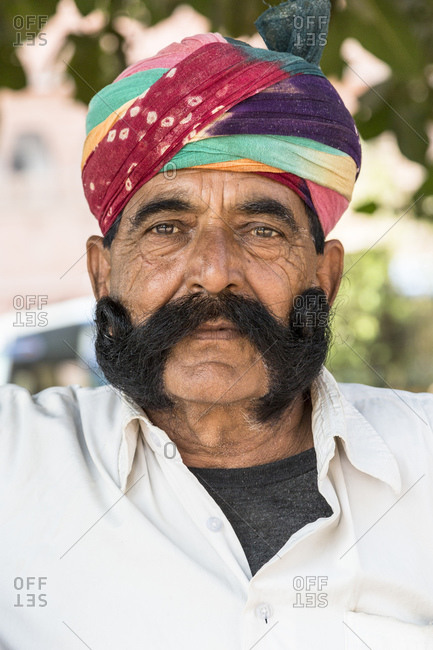 February 8, 2016: Portrait, Bikaner, Rajasthan, India