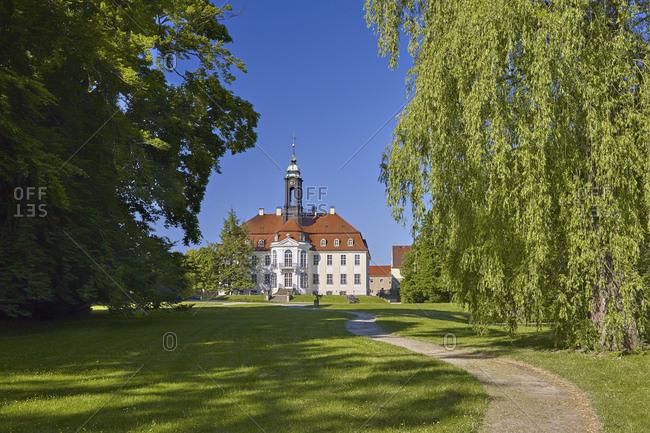 June 6, 2015: Reinhardtsgrimma Castle, Saxony, Germany