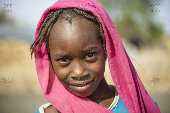 June 9, 2014: Sahel girls in Sudan