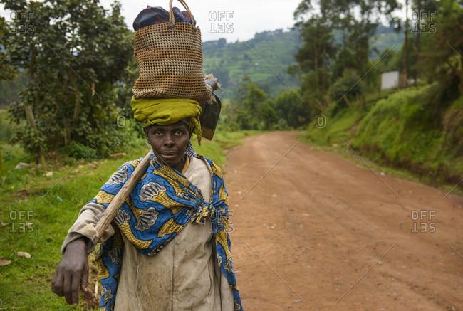 October 21, 2014: Farmer's wife, Uganda, Africa