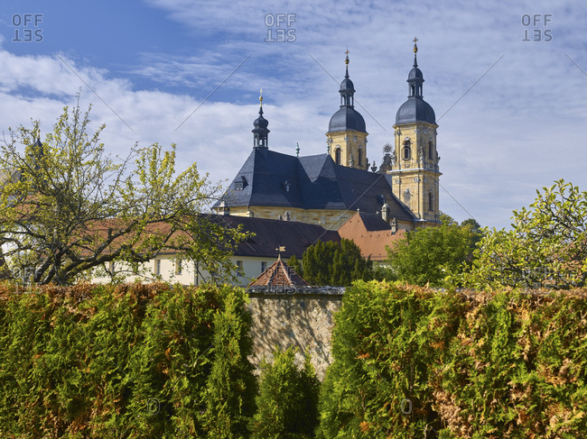 Pilgrimage church, Gossweinstein, Upper Franconia, Bavaria, Germany