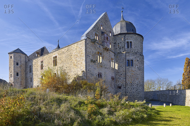 Sleeping Beauty Castle Sababurg, Hofgeismar, Hesse, Germany