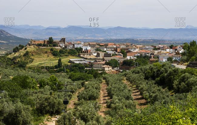 Small town in Castilla La Mancha, Spain