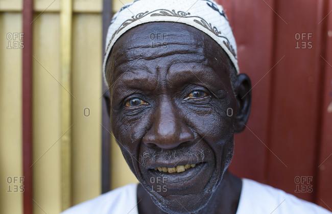 April 21, 2014: Sudanese Sahara, Wadi Halfa, Sudan