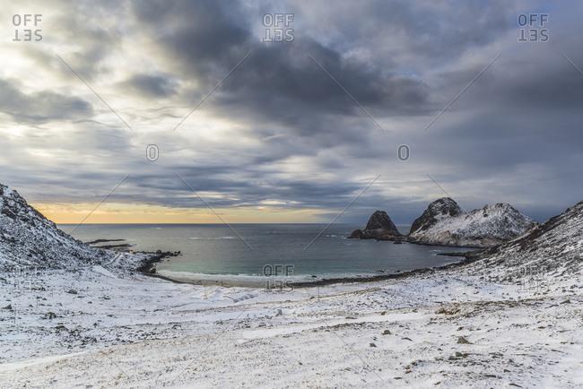 Bay of Bufjellet, Bo on the Vesteralen, Norway