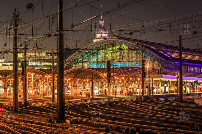 December 15, 2015: Hauptbahnhof, Cologne, North Rhine-Westphalia, Germany