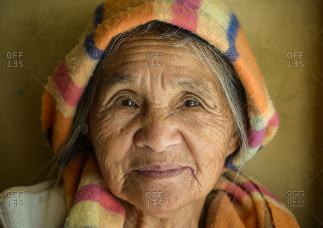 February 28, 2013: Igorot woman, Northern Luzon, Philippines