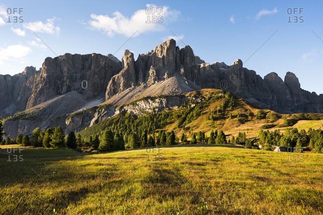 Gardena Pass, Dolomites, Alps, South Tyrol, Italy, Europe
