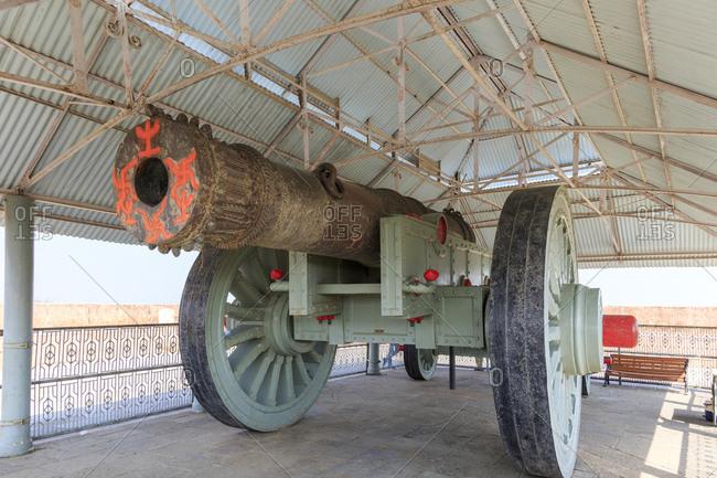 Jaivana, Jaivan, cannon, Fort Jaigarh, Jaipur, Rajasthan, India