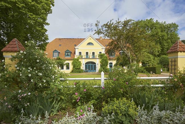 June 20, 2015: Gutshaus Solzow, Vipperow, Mecklenburg-Vorpommern, Germany
