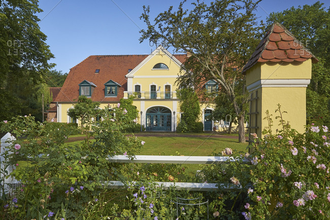 June 22, 2015: Gutshaus Solzow, Vipperow, Mecklenburg-Vorpommern, Germany