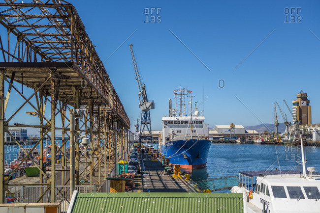 March 1, 2017: Harbor, Cape Town, South Africa
