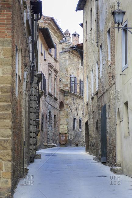 May 10, 2017: Montepulciano, Val d'Orcia, Tuscany, Italy