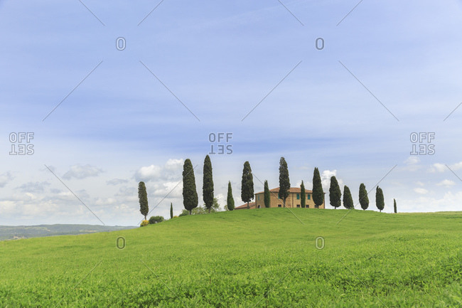 May 12, 2014: I Cipressini, Pienza, Tuscany, Italy