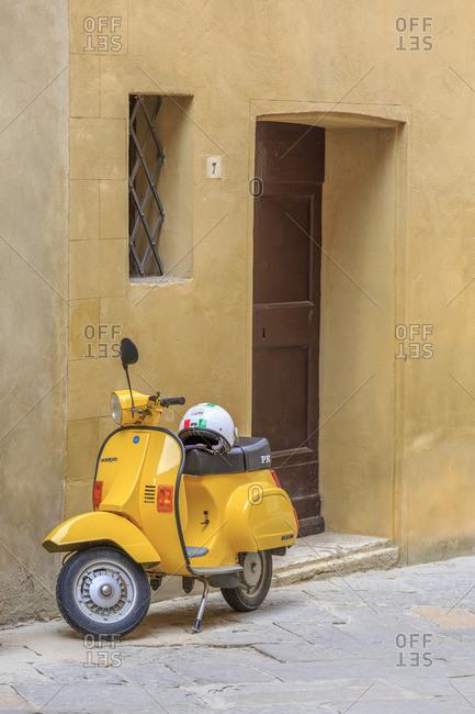 May 12, 2017: Pienza, Val d'Orcia, Tuscany, Italy