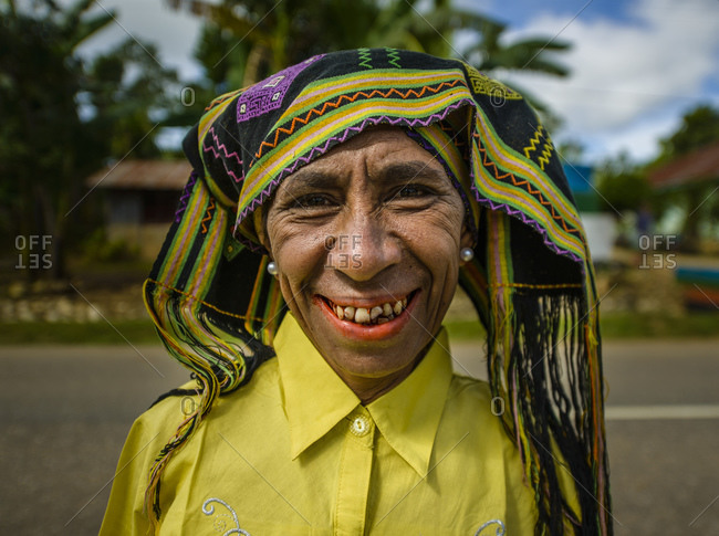 May 23, 2013: Woman from West Timor, Indonesia