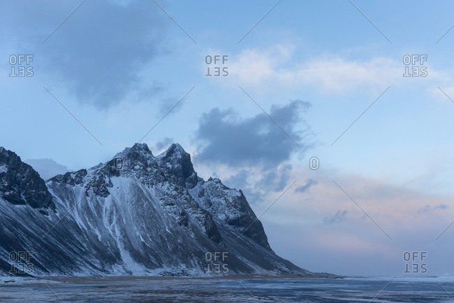 Mount Vestrahorn, Stokksnes, headland in the southeast, Iceland