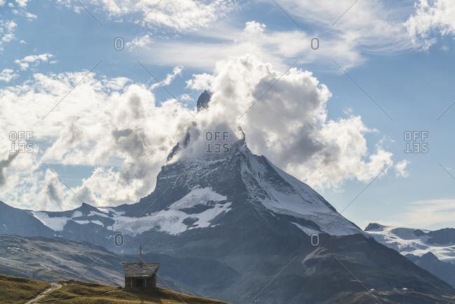 Riffelberg Chapel, Holy Brother Klaus, Matterhorn, Zermatt, Switzerland