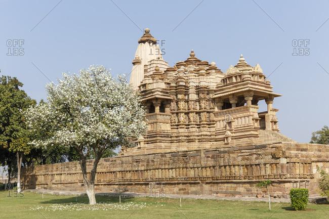Chitragupta Temple, Khajuraho Temple District, Khajuraho, Madhya Pradesh, India