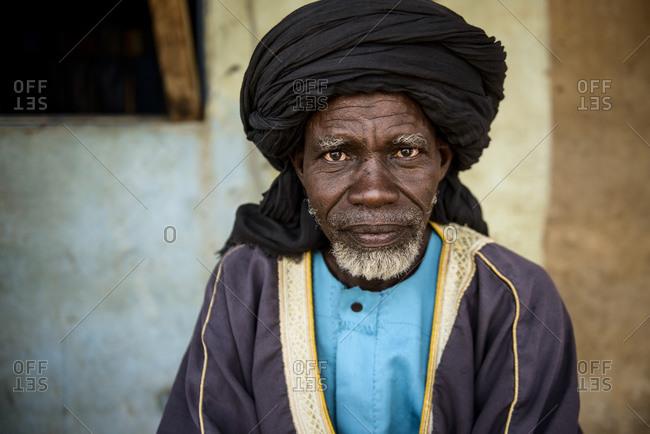 December 10, 2015: A Nigeria man (Niger), Burkina Faso