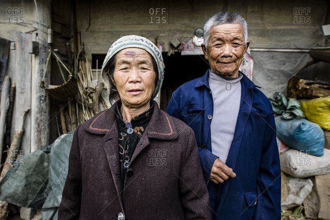 December 14, 2012: Ethnic minority, peasants, Guizhou Province, China