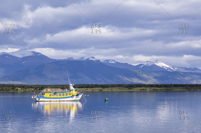December 2, 2016: Puerto Natales, Patagonia, Chile, South America