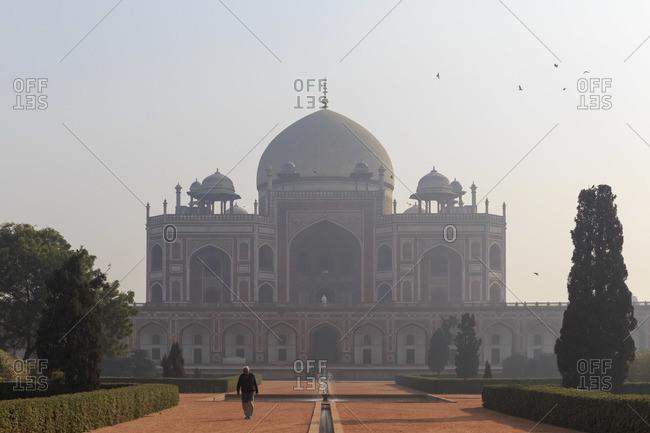 February 3, 2016: The Humayun Mausoleum in Delhi, India