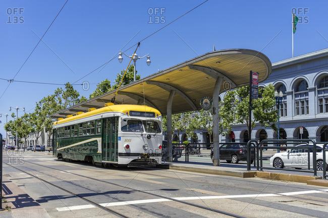 June 19, 2017: Historic TrAM, San Francisco, California, USA