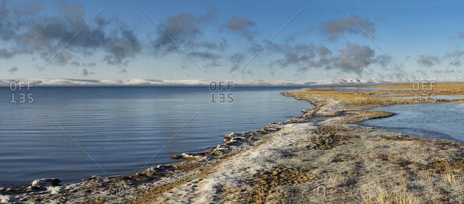 Kering Lake on the Tibetan Plateau, Qinghai Province, China