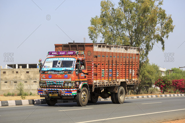 March 5, 2016: At the expressway in Rajasthan, India