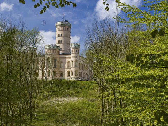 May 2, 2015: Jagdschloss Granitz, Ruegen, Mecklenburg-West Pomerania, Germany