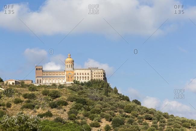 Sanctuary of the Black Madonna of Tindari, Sicily, Italy