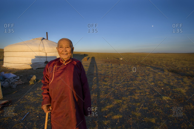 September 16, 2013: Nomad of the Gobi Desert, Mongolia