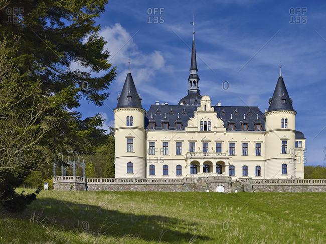 April 28, 2015: Ralswiek Castle, Ruegen Island, Mecklenburg-West Pomerania, Germany