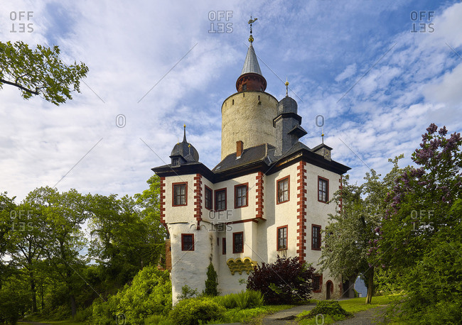 Castle Posterstein in the Upper Sprottental, Lk. Altenburg, Thuringia, Germany