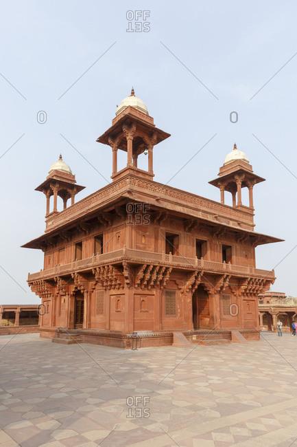 Diwan-i-Khas Audience Hall, Royal Palace, Fatehpur Sikri, Uttar Pradesh, India