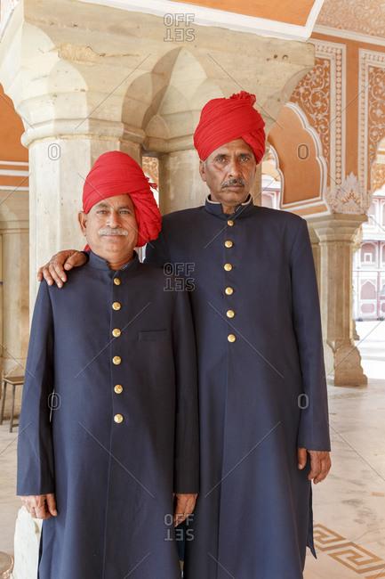 February 27, 2016: City Palace, City Palace, Jaipur, Rajasthan, India