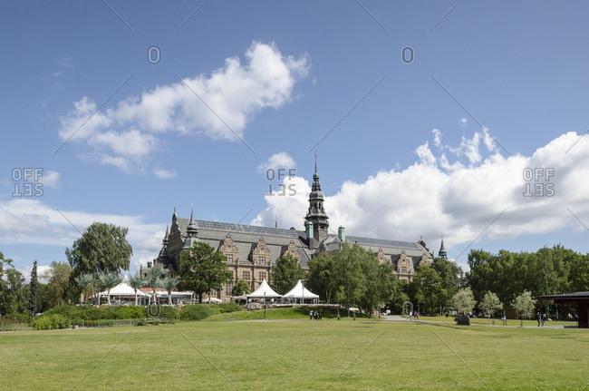 July 11, 2015: Nordic Museum, Djurgarden Island, Stockholm, Sweden, Europe
