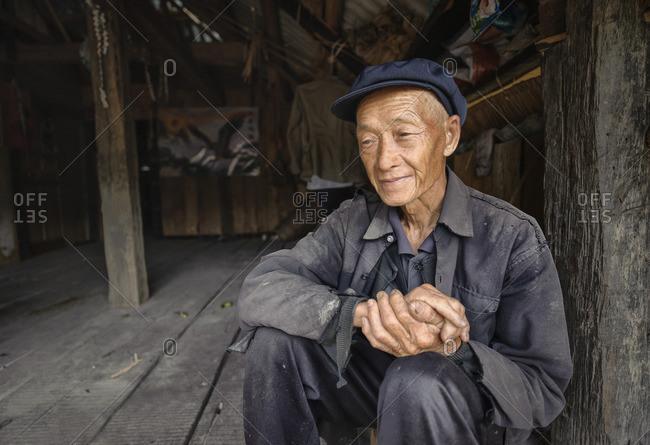 June 11, 2011: Bulang ethnic minority farmers, Xishuangbanna, Yunnan, China