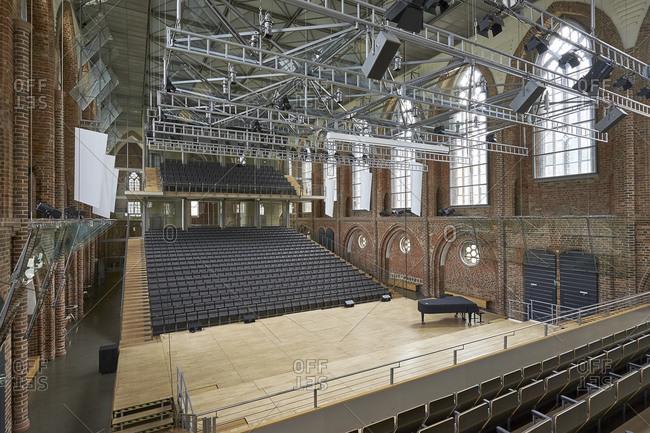 June 19, 2016: Neubrandenburg Concert Church, Neubrandenburg, Mecklenburg-West Pomerania, Germany