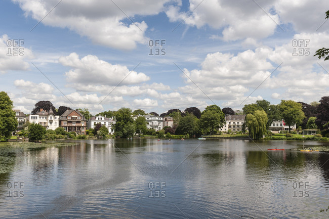 Luxury real estate, Rondeel, Aussenalster, Hanseatic City of Hamburg, Germany