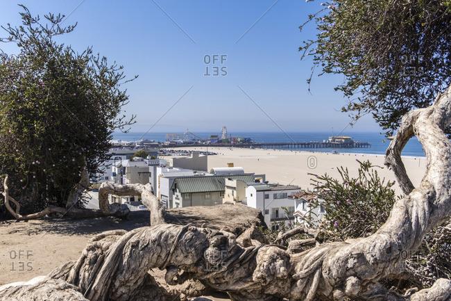 Santa Monica Pier, Santa Monica Beach, Los Angeles, California, USA
