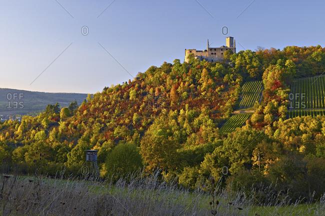The Trimburg near Trimberg / Elfershausen, Lower Franconia, Bavaria, Germany
