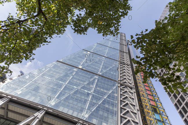 122 Leadenhall Street, colloquially known as Cheese Grater, London, United Kingdom