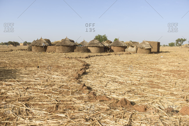 December 13, 2015: Rural life in a Gourmatche village, Burkina Faso