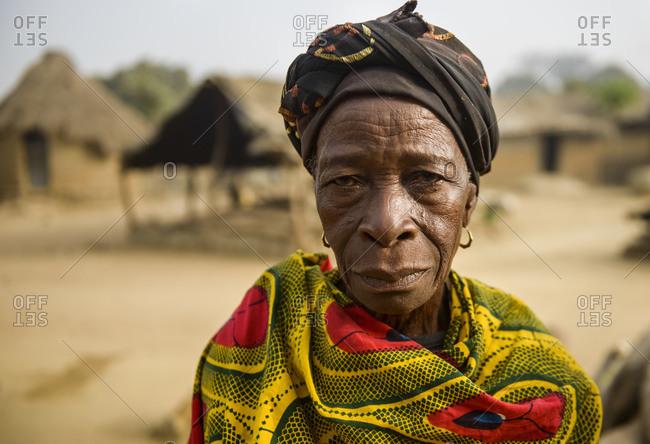February 7, 2016: Portraits of Ivorian people, Cote D'Ivore (Ivory Coast)
